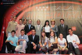 Jorge Arroyo galardonado en Madrid