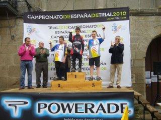 Podio Campeonato España Trial Bici, Ledesma