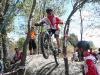 Marc Parra, salto entre árboles